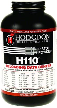 Picture of Hodgdon 1101 H110 Smokeless Pistol/Shotshell 1Lb Can State Laws Apply