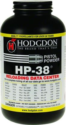 Picture of AA's Smokeless Pistol/Shotshell Powder Hp-38®