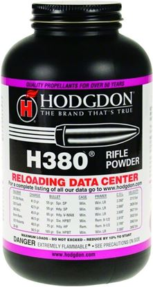 Picture of Hodgdon 3801 H380 Smokeless Rifle Powder 1Lb Can State Laws Apply
