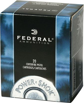 Picture of Federal Power-Shok Handgun