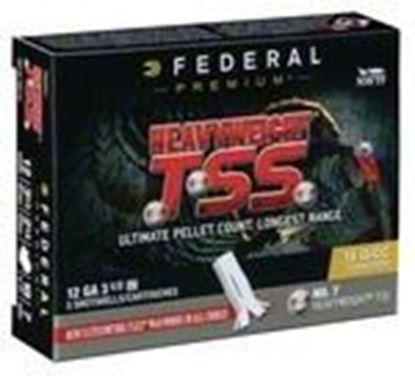 "Picture of Federal PTSSX191F-7 Heavyweight TSS Turkey Shotshell 12 GA 3 1/2"" 2 1/4oz #7, 5 Rnd per Box"