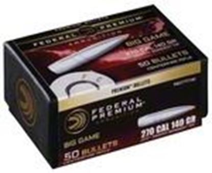 Picture of Federal PB277TT140 Premium Bullets 140 Grain Trophy Bonded Tip CB 50 Box