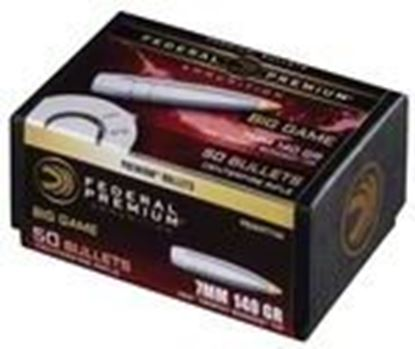 Picture of Federal PB284TT140 Premium Bullets 140 Grain Trophy Bonded Tip CB 50 Box