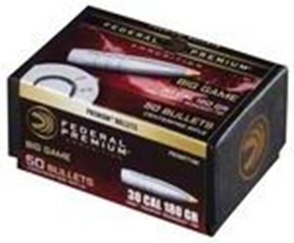 Picture of Federal PB308TT180 Premium Bullets 180 Grain Trophy Bonded Tip CB 50 Box