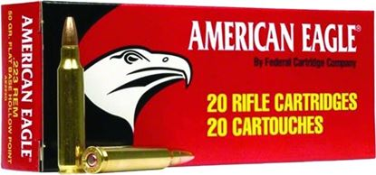 Picture of Federal A76239A American Eagle Rifle Ammo 7.62X39 SOV, FMJ, 124 Grains, 2350 fps, 20, Boxed