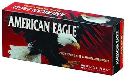 Picture of Federal AE223N American Eagle Rifle Ammo 223 REM, FMJBT, 62 Grains, 3020 fps, 20, Boxed