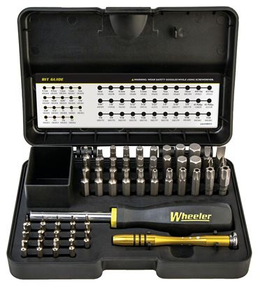 Picture of Wheeler 1081958 SAE/Metric/Hex/Torx Screwdriver Set, 55 pc