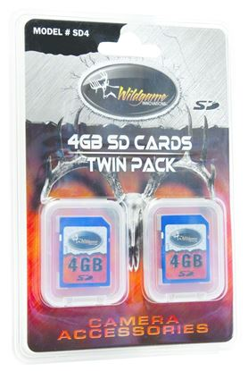 Picture of 4GB SD Cards Twin Pack