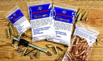 Picture of Winchester WSC223RU Unprimed Reloading Brass 223 100Bg