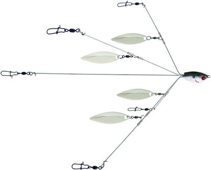 Picture of Yum YUMBLW5TSNR YUMbrella Flash Mob Jr-Willow Leaf Blade 5-Wire Fishing Rig