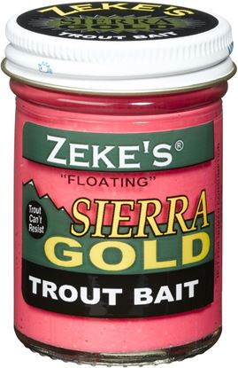Picture of Atlas Mike's 0919 Sierra Gold Floating Trout Bait, Jar, Corn/Creme Glitter