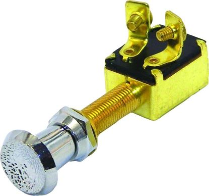 Picture of Invincible Marine 2- Position Push/Pull Brass Switch