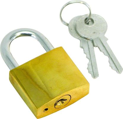 Picture of Invincible Marine Brass Padlock