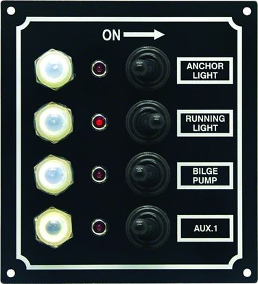 Picture of Invincible Marine Led 4-Switch Panel