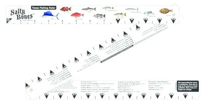 Picture of Folding Fish Ruler With State Regulations