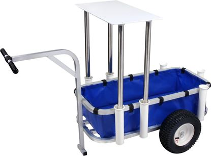 Picture of Aluminum Beach/Surf/ Pier Cart with Liner