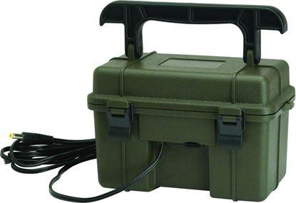 Picture of Stealth Cam STC-12VBB 12V Battery Box, Sealed 12V Lead Acid Battery, Weatherproof