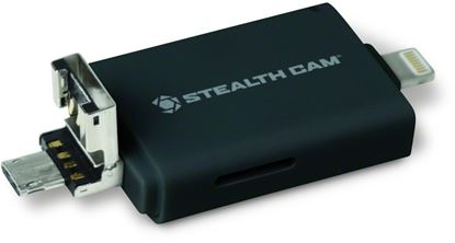 Picture of Dual Device Memory Card Reader