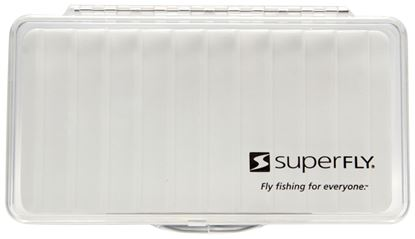 Picture of Superfly SFB-CRF-L Fly Box Clear