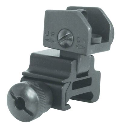 Picture of NC Star AR-15 Flip Up Rear Sight
