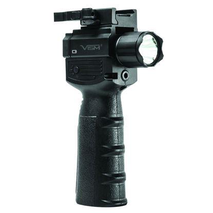 Picture of NC Star Vert Grip w/Strobe Flashlight & Red Laser