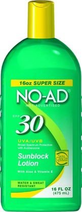 Picture of No-Ad Sunscreen Lotion
