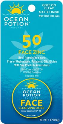 Picture of Ocean Potion 11721 Clear Zinc Oxide