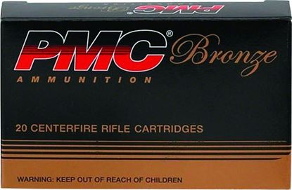 Picture of PMC 762A Bronze Rifle Ammo 7.62X39, FMJ, 123 Grains, 2350 fps, 20, Boxed