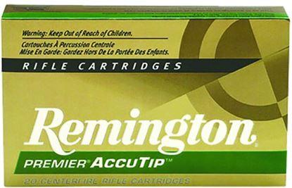 Picture of Remington PRA243WA Premier AccuTip Rifle Ammo 243 WIN, AccuTip, 95 Grains, 3120 fps, 20, Boxed