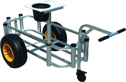 Picture of Fish-N-Mate Fishing Carts with 3rd Wheel
