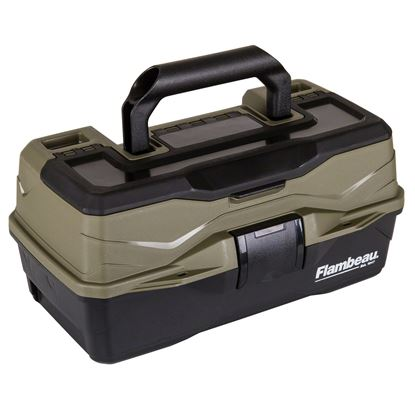 Picture of Flambeau 6381ST Wingshooter Field Box, 1 Shotshell Tray, Flip Top Lid Accessory Compartment