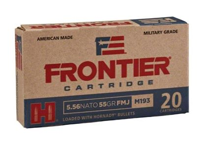 Picture of Frontier FR240 Rifle Ammo 5.56 Nato 55 Gr Hollow Point Match