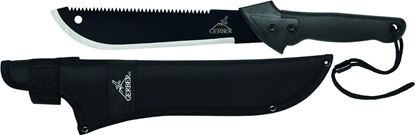 "Picture of Gerber 31-000759N Gator Machete Jr, 10.75"" Blade, Nylon Sheath Clam"
