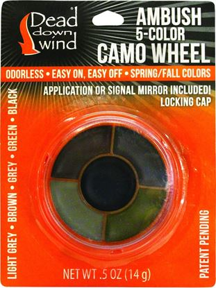 Picture of Dead Down Wind Camo Facepaint Wheel
