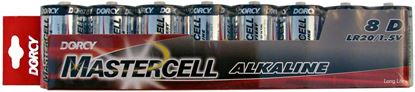 Picture of Dorcy Mastercell Alkaline Batteries