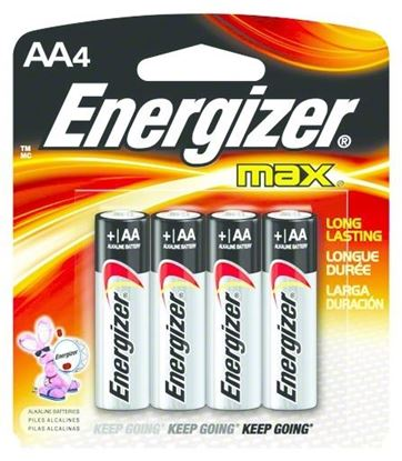 Picture of Max Alkaline Batteries