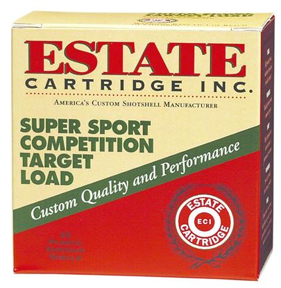 Picture of Estate SS12H1-7.5 Super Sport Competition Target Load Shotshell 12 GA, 2-3/4 in, No. 7-1/2, 1oz, 3 Dr, 1235 fps
