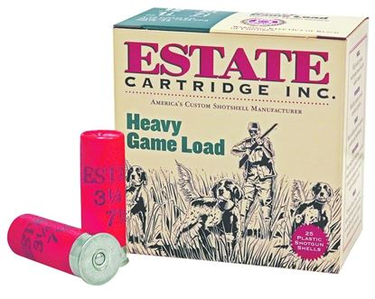 Picture of Estate HG20-7.5 Upland Shotshell 20 GA, 2-3/4 in, No. 7-1/2, 1oz, 2-1/2 Dr, 1165 fps, 25 Rnd per Box