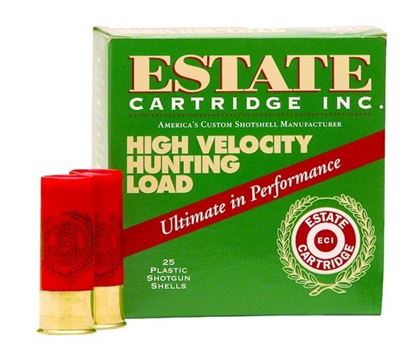 Picture of Estate HV4103-7.5 High-Velocity Shotshell 410 GA, 3 in, No. 7-1/2, 11/16oz, Max Dr, 1135 fps, 25 Rnd per Box