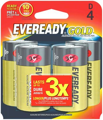 Picture of Eveready Gold Alkaline Batteries