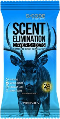 Picture of D/Code Dryer Sheets Unsented