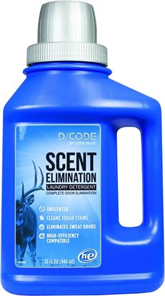 Picture of Code Blue D/Code Laundry Detergent Unscented
