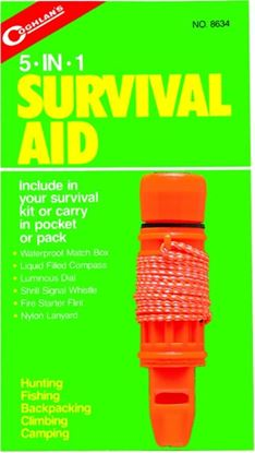 Picture of Coghlans 5-In-1 Survival Aid