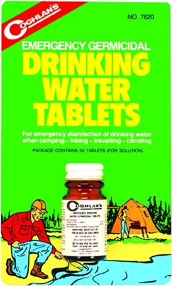 Picture of Coghlans Drinking Water Tablets
