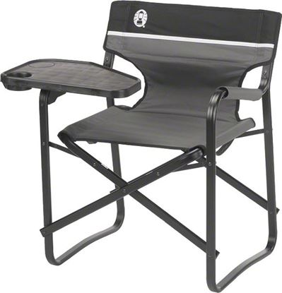 Picture of Coleman 2000020295 Deck Chair Aluminum w/Swivel Table