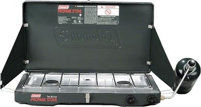 Picture of Coleman Double Burner Propane Stove
