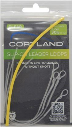 "Picture of "" Slip-on"" Leader Loops"