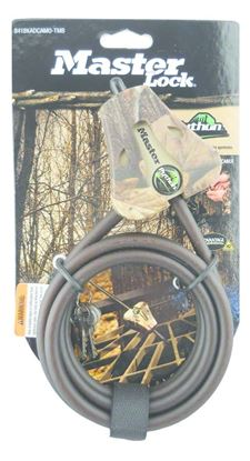 "Picture of Covert 2151 Master Lock Python Security Cable 6', 5/16"" APG Camo"