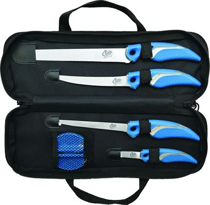 Picture of 6Pc Knife & Shear Sharpener Kit