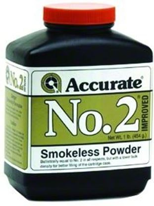 Picture of Accurate No 2 Double Base Smokeless Powder For Handguns, 1Lb, State Laws Apply
